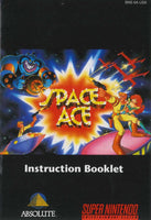 Space Ace (Manual Only, SNES)