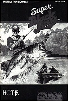 Super Black Bass (Manual Only, SNES)