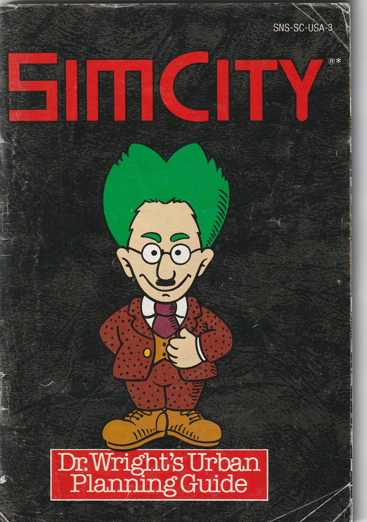 Sim City (SNES, Manual Only)