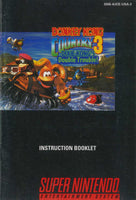 Donkey Kong Country 3 (Manual Only, SNES)