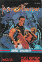 Art of Fighting (SNES, Manual Only)