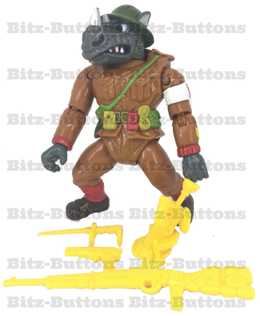 Dimwit Doughboy Rocksteady (TMNT, Playmates)