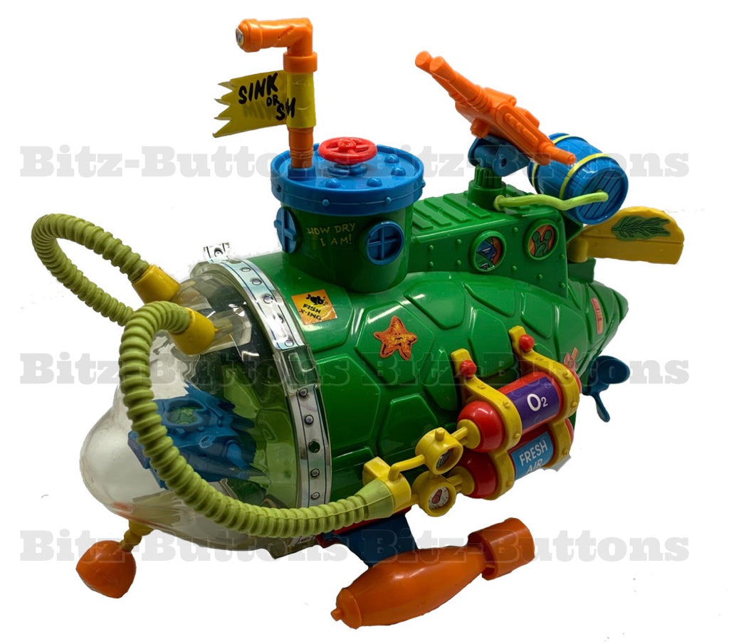 Sewer Submarine (TMNT Complete, Playmates)