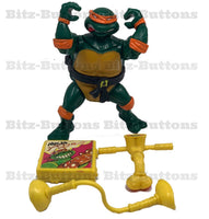 Head Droppin Michelangelo (TMNT, Playmates)