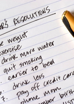 New years resolutions… yay or nay?