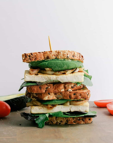 Avocado Tofu Sandwich