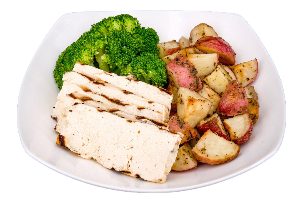 #22 Tofu, Red Potatoes & Broccoli