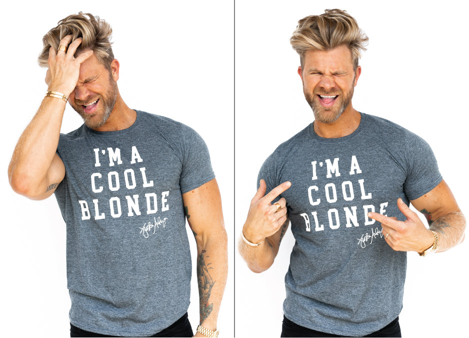 I'm a Cool Blonde Tee