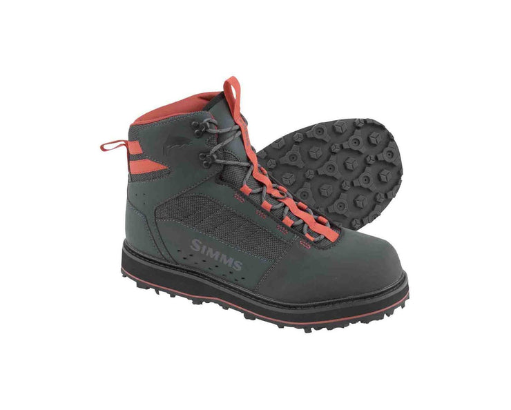SIMMS TRIBUTARY WADING BOOT - RUBBER SOLE