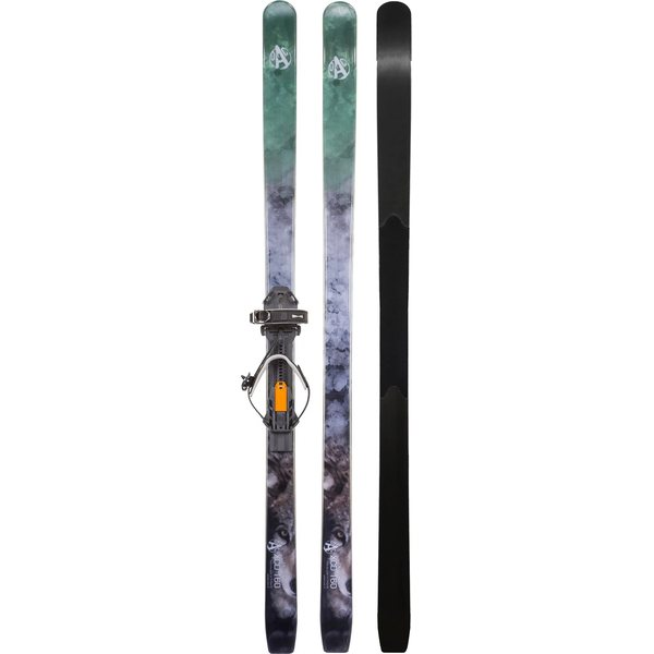 OAC Skinbased XCD 160 Skis