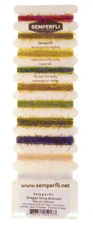 Semperfli Straggle String Mixed Pack- Natural Collection