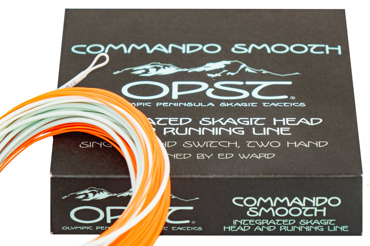 OPST Commando Smooth Integrated Skagit Head / Running Line