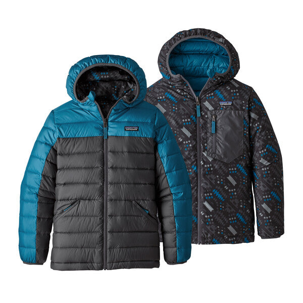 Patagonia Boys' Reversible Down Sweater Hoody