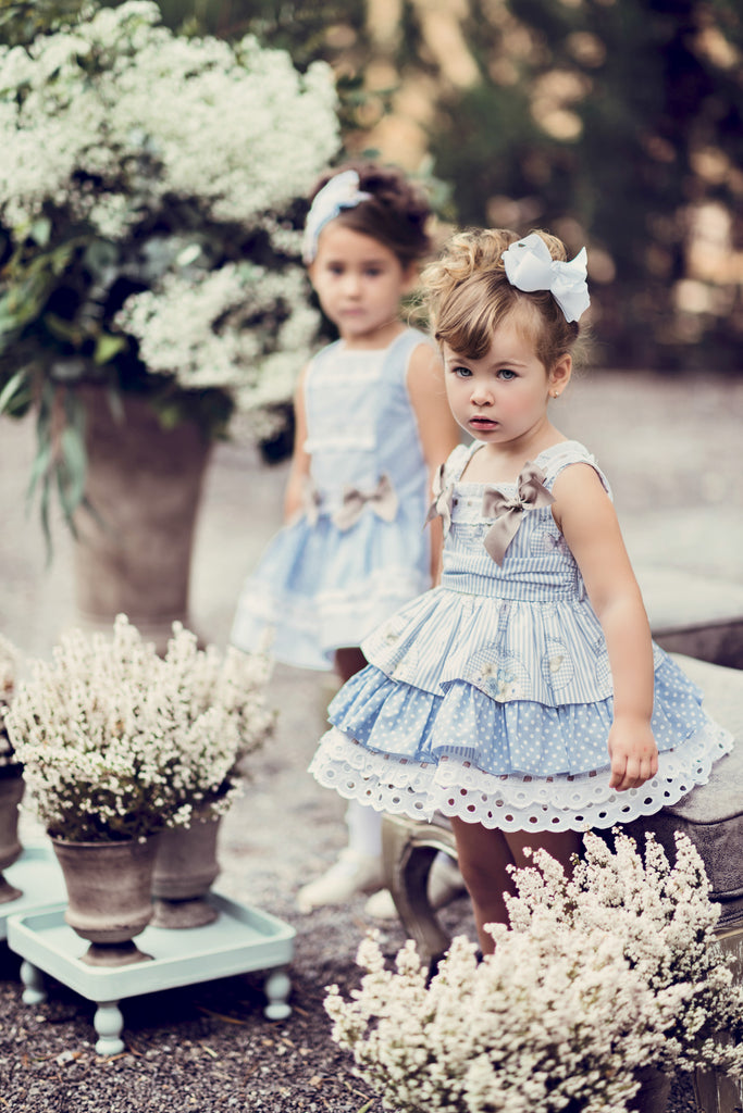 Butterfly & Polka Dot Dress