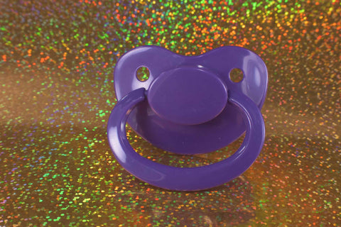 Royal Purple Adult Size Paci