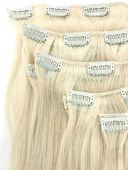 Eastern European Human Hair Clip In Hair Extensions
