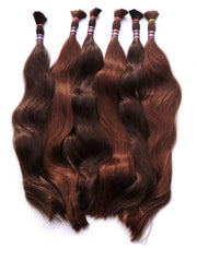 Indian Temple Hair, Naturally Straight, Bulk Hair