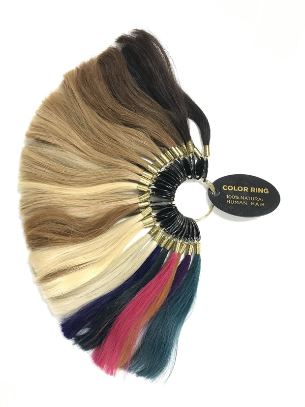 Human Hair Extensions Colour Ring