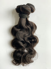 "Bundle Deal! Indian Remy Human Hair Extensions, Virgin, 18"", Wavy, Weft, 280g - Next Day Shipping!"