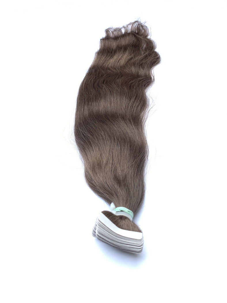 "Russian Remy Human Hair Extensions, 20"" Straight, Tape In Hair Extensions - Next Day Shipping!"