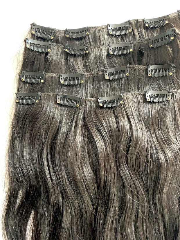 Clip In Hair Extensions, Human Hair Extensions Clip In