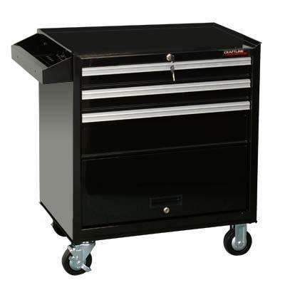 CraftLine Limited PC-W26-3PX Tool Box Roller Cabinet Wagon w/ 3 DrawersCraftLine Limited PC-W26-3PX Tool Box Roller Cabinet Wagon w/ 3 DrawersGarage Systematic