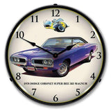 Collectable Sign & Clock 1970 Dodge Coronet Super BeeCollectable Sign & Clock 1970 Dodge Coronet Super BeeGarage Systematic