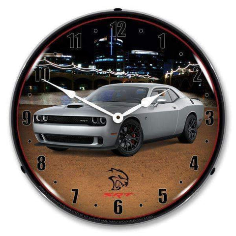 Collectable Sign & Clock Challenger SRT Hellcat BilletCollectable Sign & Clock Challenger SRT Hellcat BilletGarage Systematic