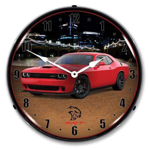 Collectable Sign & Clock Challenger SRT Hellcat TorredCollectable Sign & Clock Challenger SRT Hellcat TorredGarage Systematic