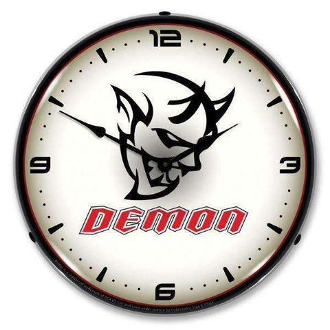 Collectable Sign & Clock Dodge DemonCollectable Sign & Clock Dodge DemonGarage Systematic
