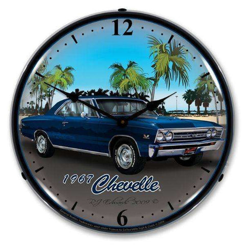Collectable Sign & Clock 1967 ChevelleCollectable Sign & Clock 1967 ChevelleGarage Systematic