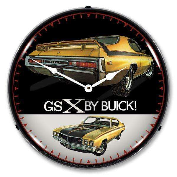 Collectable Sign & Clock 1970 Buick GSXCollectable Sign & Clock 1970 Buick GSXGarage Systematic