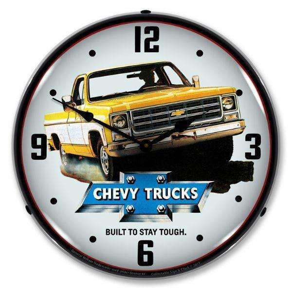 Collectable Sign & Clock 1979 Chevrolet TruckCollectable Sign & Clock 1979 Chevrolet TruckGarage Systematic