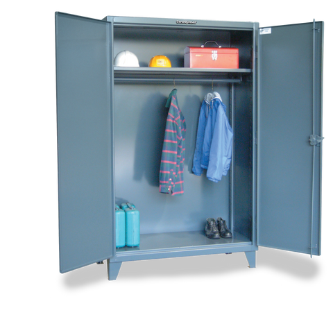 Strong Hold 36-WR-241 Industrial Uniform Cabinet with Full-Width Hanging RodStrong Hold 36-WR-241 Industrial Uniform Cabinet with Full-Width Hanging RodGarage Systematic