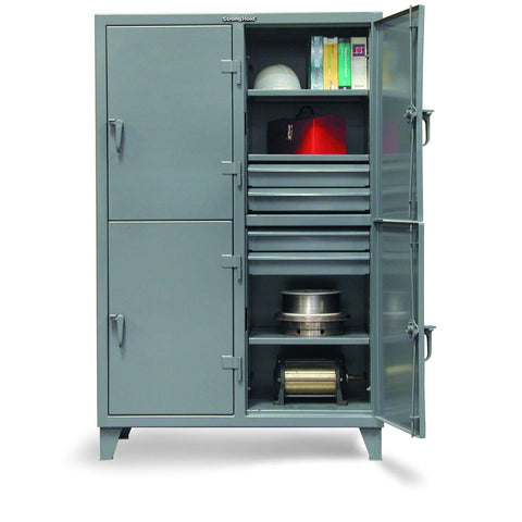 Strong Hold 46-24-2TPL-8DB Industrial Locker with DrawersStrong Hold 46-24-2TPL-8DB Industrial Locker with DrawersGarage Systematic