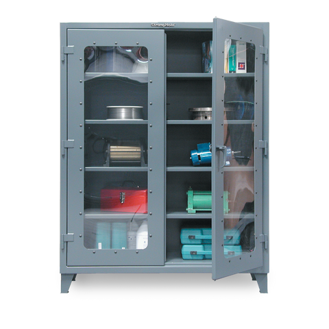 Strong Hold 46-LD-244 Clear View Storage CabinetStrong Hold 46-LD-244 Clear View Storage CabinetGarage Systematic