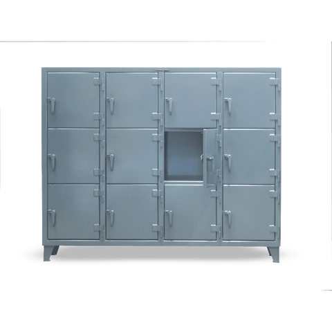 Strong Hold 75-18-3TMT Triple-Tier Industrial Locker with Multiple CompartmentsStrong Hold 75-18-3TMT Triple-Tier Industrial Locker with Multiple CompartmentsGarage Systematic