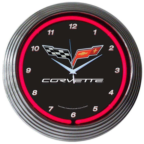 Neonetics Corvette C6 Neon ClockNeonetics Corvette C6 Neon ClockGarage Systematic