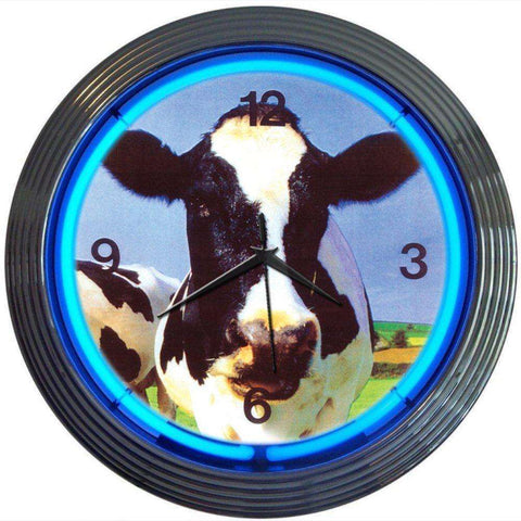 Neonetics Cow Neon ClockNeonetics Cow Neon ClockGarage Systematic