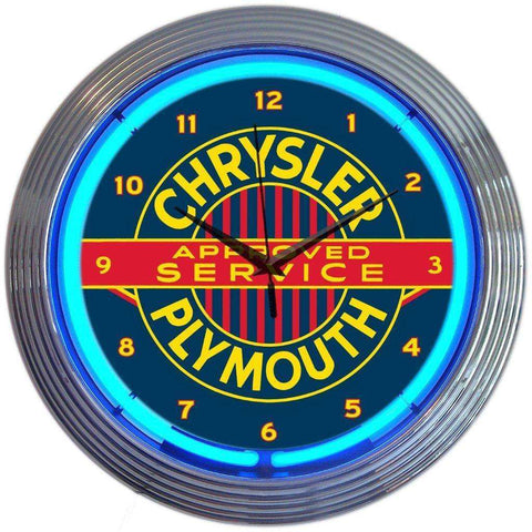 Neonetics Chrysler Plymouth Neon ClockNeonetics Chrysler Plymouth Neon ClockGarage Systematic