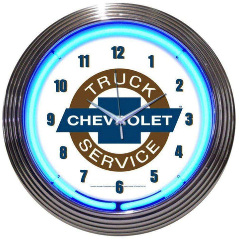 Neonetics Chevy Truck Neon ClockNeonetics Chevy Truck Neon ClockGarage Systematic