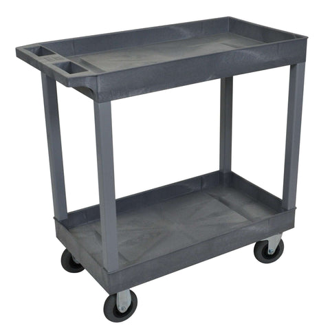 Luxor Gray 18x32 2 Tub Cart W/ SP5 CastersLuxor Gray 18x32 2 Tub Cart W/ SP5 CastersGarage Systematic
