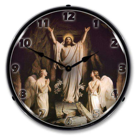 Collectable Sign & Clock Jesus ResurrectionCollectable Sign & Clock Jesus ResurrectionGarage Systematic