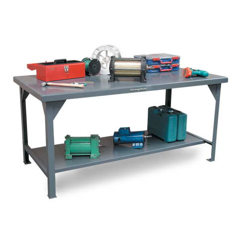 Strong Hold T4830 Industrial Shop TableStrong Hold T4830 Industrial Shop TableGarage Systematic