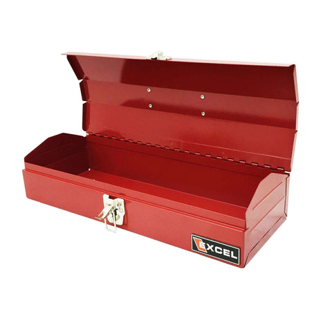 Excel TB102-Red 16-Inch Portable Steel Tool Box
