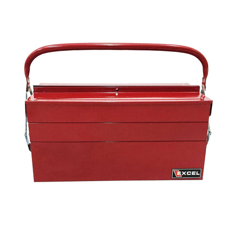 Excel TB123-Red 16-Inch Cantilever Steel Tool Box