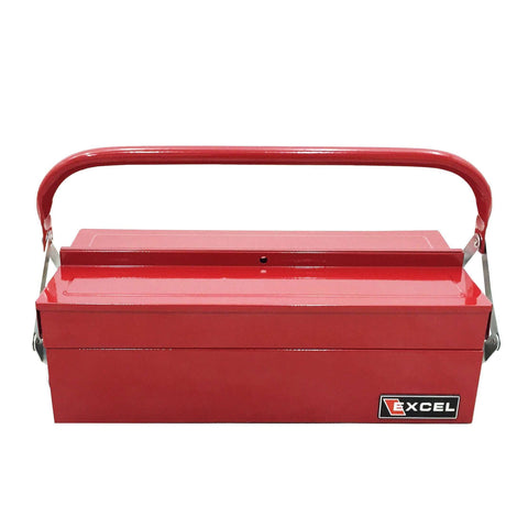 Excel TB126-Red 14-Inch Cantilever Steel Tool Box