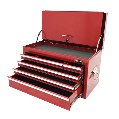 Excel Metal Tool Box Chest 6 Drawer TB2050BBS-A