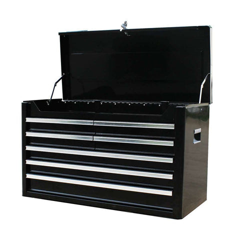 Excel TB2108X-Black 36-Inch Metal Tool Box Chest with 7 BBS Drawers