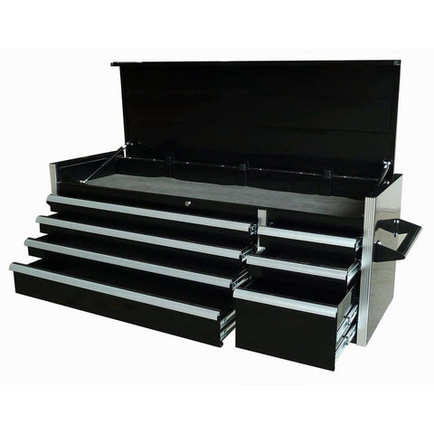 Excel TB5607A-Black 56-Inch Metal Tool Box Chest with 7 BBS Drawers